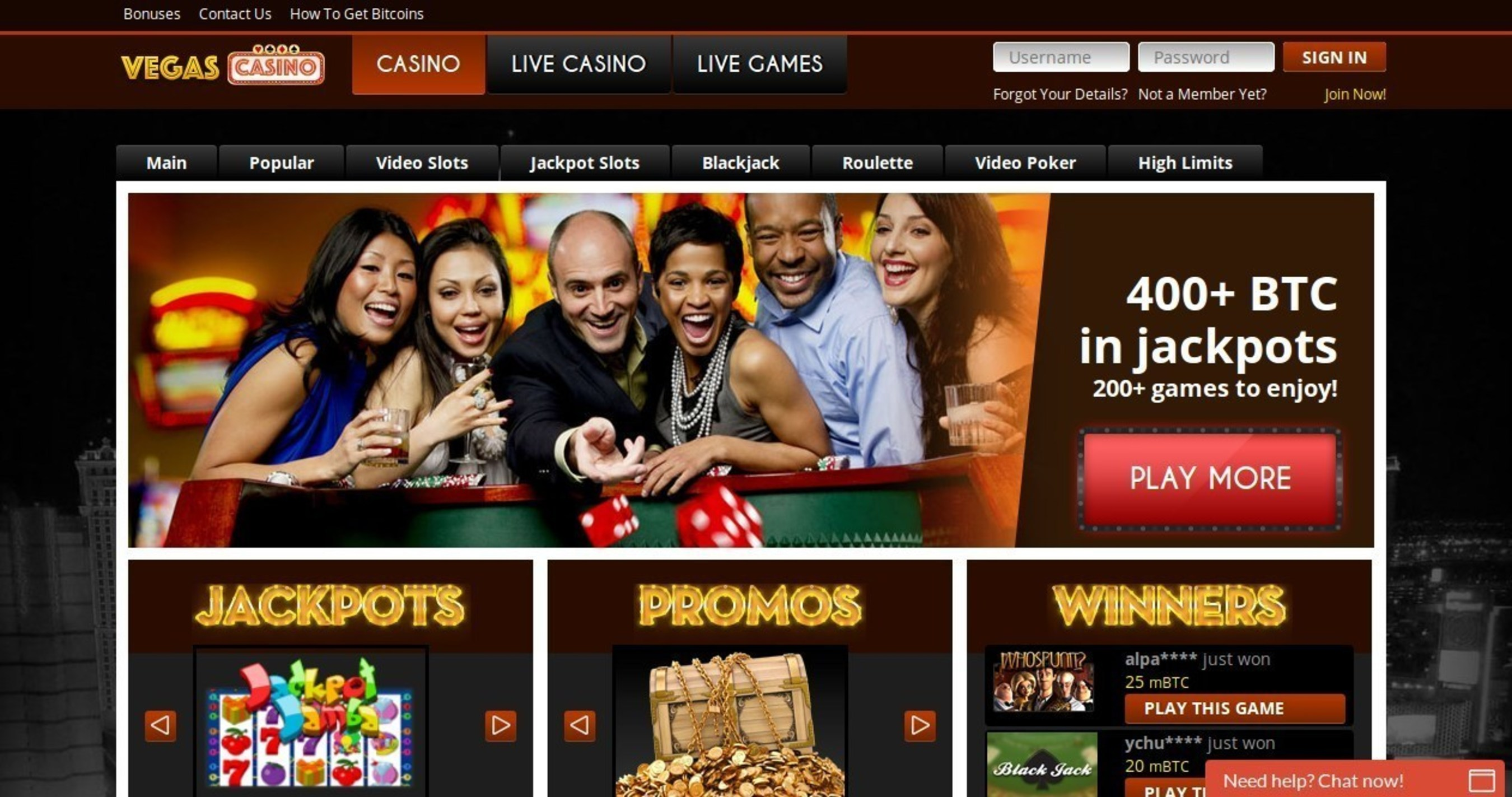 Vegascasino.io Launches Into The Bitcoin Casino And Online Gaming Markets