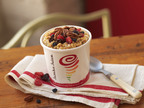 Jamba Juice's Berry Cherry Pecan Oatmeal, available for a limited time only beginning Oct. 29, 2013 in participating stores. Celebrate National Oatmeal Day with a hearty, nutritious bowl of Jamba Steel-Cut Oatmeal for only $2 (with coupon) from Oct. 29 - Nov. 3, 2013.  (PRNewsFoto/Jamba Juice Company)