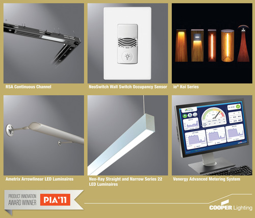 Six Cooper Lighting And Controls Products Honored In