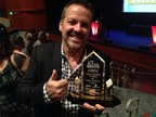 Vemma Founder and CEO, BK Boreyko accepts award for Fastest Growing Private Company in Arizona (PRNewsFoto/Vemma Nutrition Company)