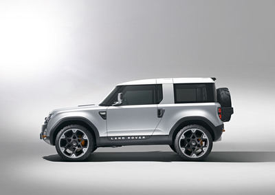 Land Rover Confirms All-New Defender Concept for Frankfurt Motor Show 2011.  (PRNewsFoto/Jaguar Land Rover North America LLC)