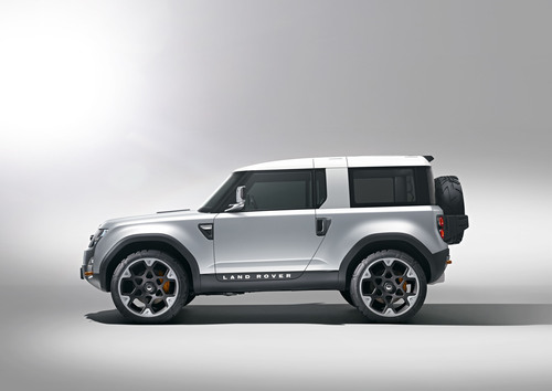 Land Rover Confirms All-New Defender Concept for Frankfurt Motor Show 2011.  (PRNewsFoto/Jaguar Land Rover ...