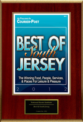 "National Karate Institute Selected For ""Best Of South Jersey"".  (PRNewsFoto/National Karate Institute)"