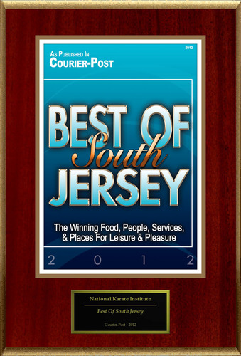 National Karate Institute Selected For 'Best Of South Jersey'