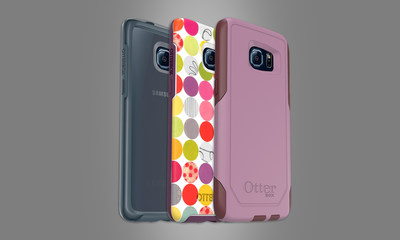 Cases for GALAXY S7 edge are available now from OtterBox. *Cases shown on GALAXY S6 edge
