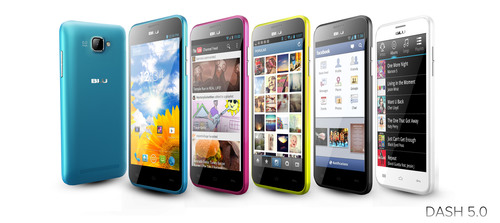 DASH 5.0(PRNewsFoto/BLU Products)