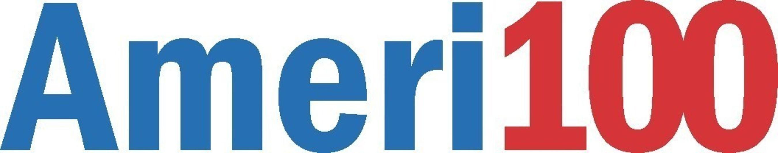 Ameri100 logo (PRNewsFoto/AMERI Holdings, Inc.)