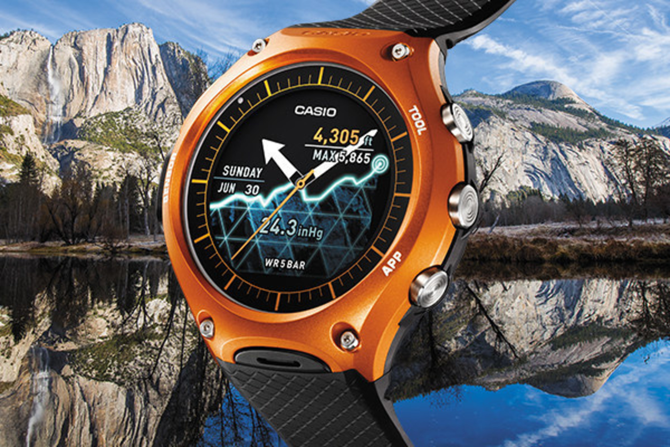 CASIO'S GROUNDBREAKING SMART OUTDOOR WATCH NOW AVAILABLE NATIONWIDE