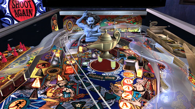 Screenshot of The Pinball Arcade on an Xbox 360.