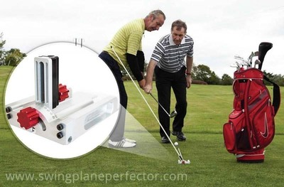 New Golf Training Aid that helps to perfect a Golf Swing, The Swing Plane Perfector, is Launched.  (PRNewsFoto/The Swing Plane Perfector)