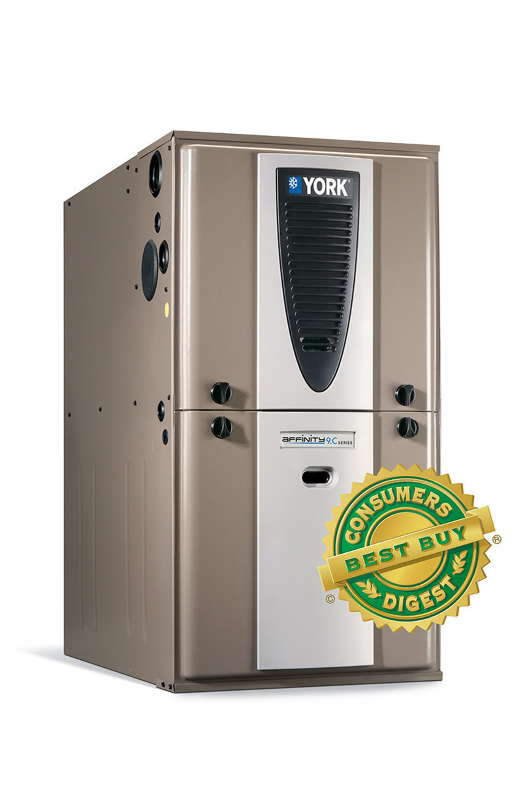 Consumers Digest magazine recently named the YORK(R) Affinity(TM) YP9C modulating gas furnace from Johnson Controls a 2016 Best Buy.