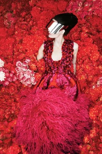Neiman Marcus Art of Fashion Fall 2012 Alexander McQueen.  (PRNewsFoto/Neiman Marcus)