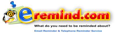 Email Reminder and Telephone Reminder Service - Eremind.com