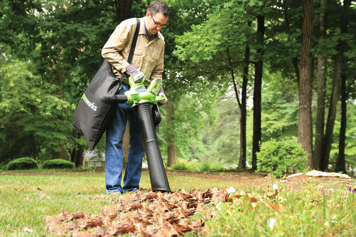 Make Life Easier This Fall With The New 40V Brushless Blower/Vac From GreenWorks. (PRNewsFoto/GreenWorks) (PRNewsFoto/GREENWORKS)