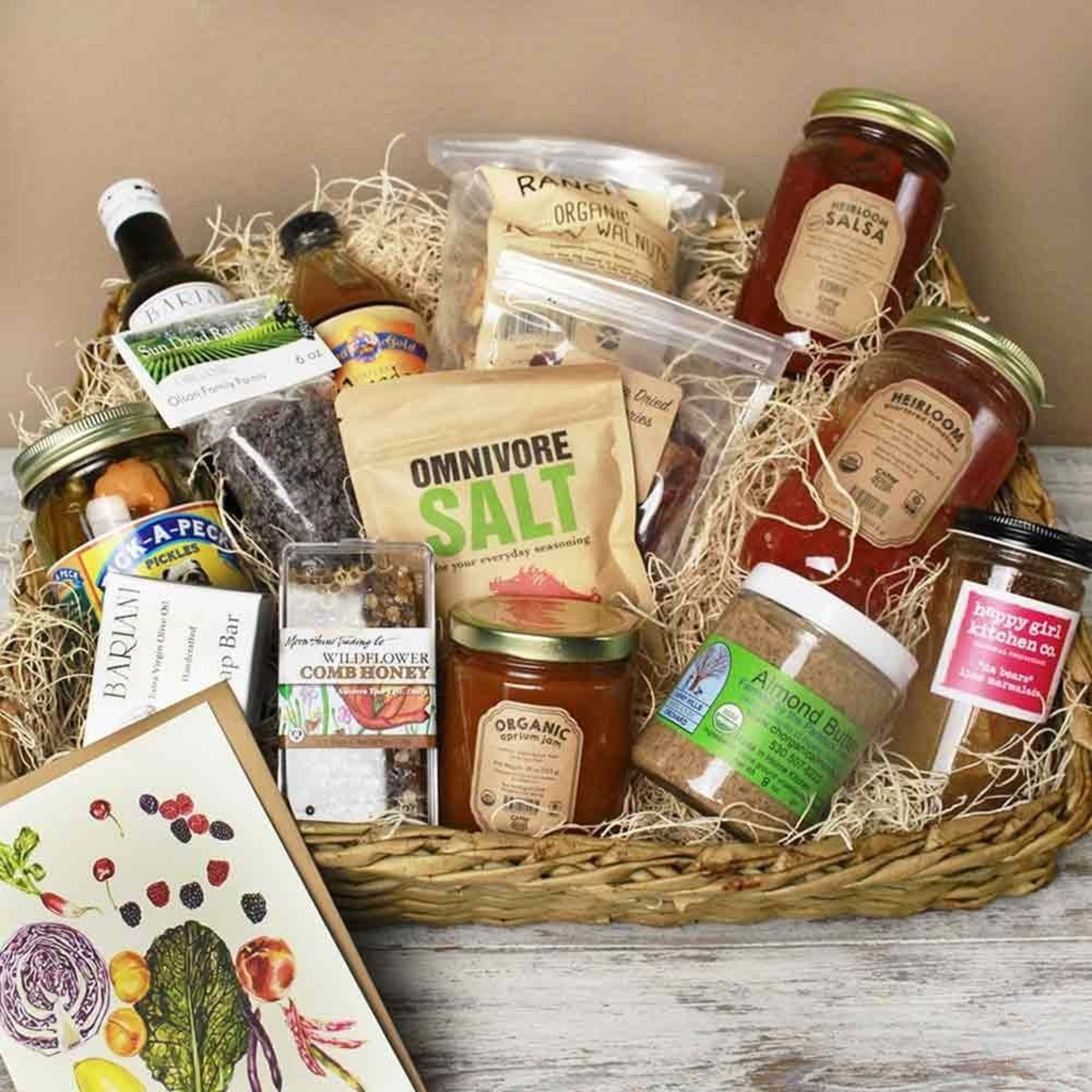 Farm Fresh To You offers gift items and baskets this holiday season.