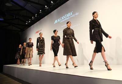 The Aquilano.Rimondi Fashion Show.  (PRNewsFoto/Alcantara)