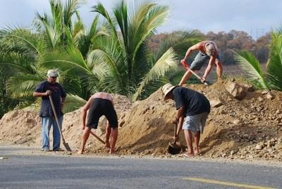 ROC contributing to the community of Loma Bonita, Mexico.