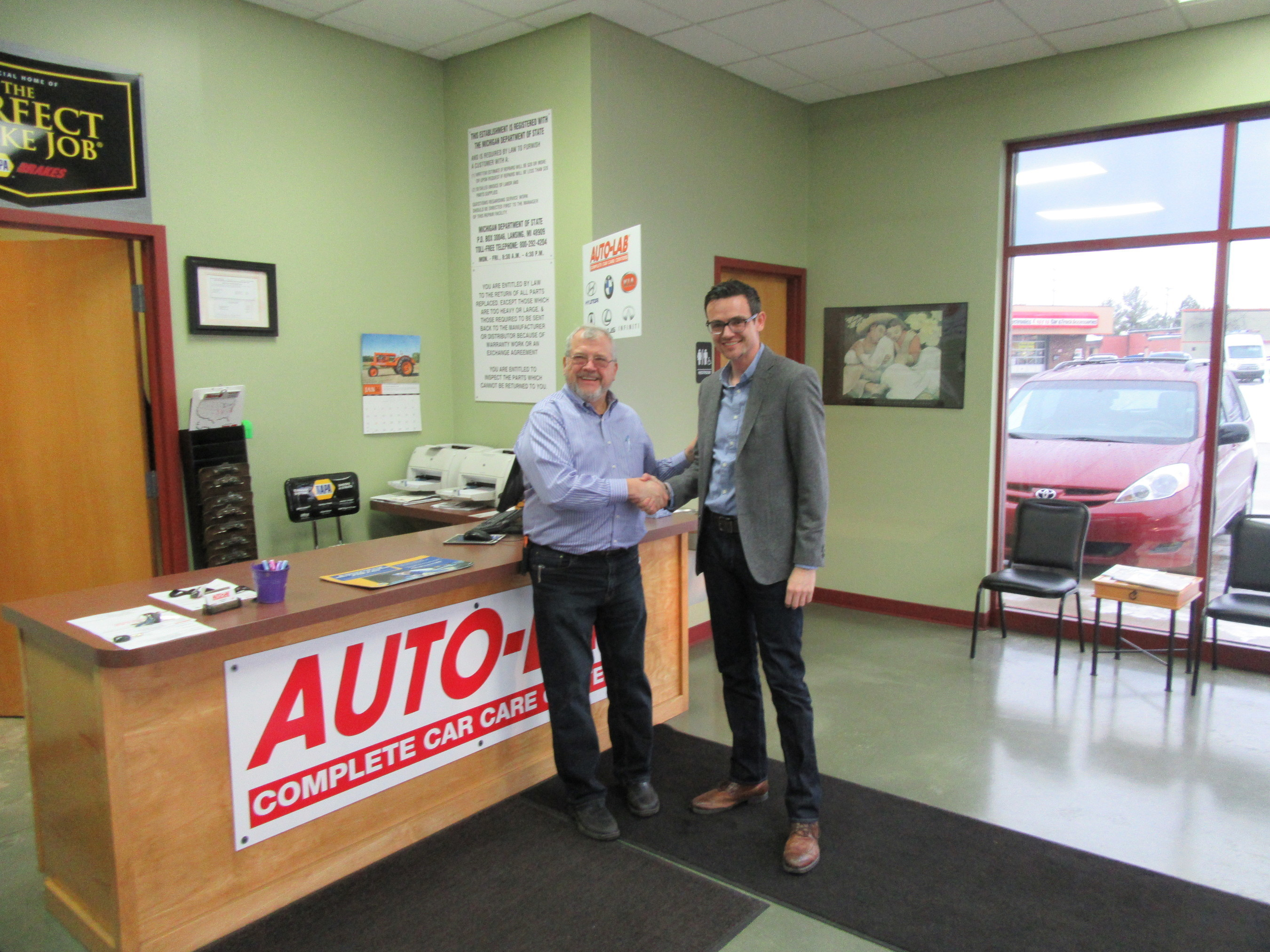 Auto-Lab Plainfield and Jension Owners Retire, Is Now Under New Ownership