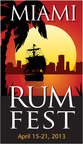 The 2013 Miami Rum Festival, featuring the RumXP Tasting Competition and Awards, will span April 15-21 with a week-long series of special events.  (PRNewsFoto/Miami Rum Renaissance Festival)