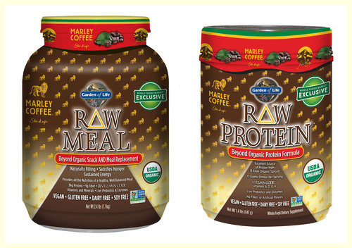 Garden of Life® Partners with Marley Coffee to Launch New Raw Protein and Raw Meal Flavors