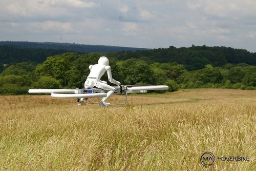 An example of one of the competitions under The world Future Sports Games : Manned Drones Races ...