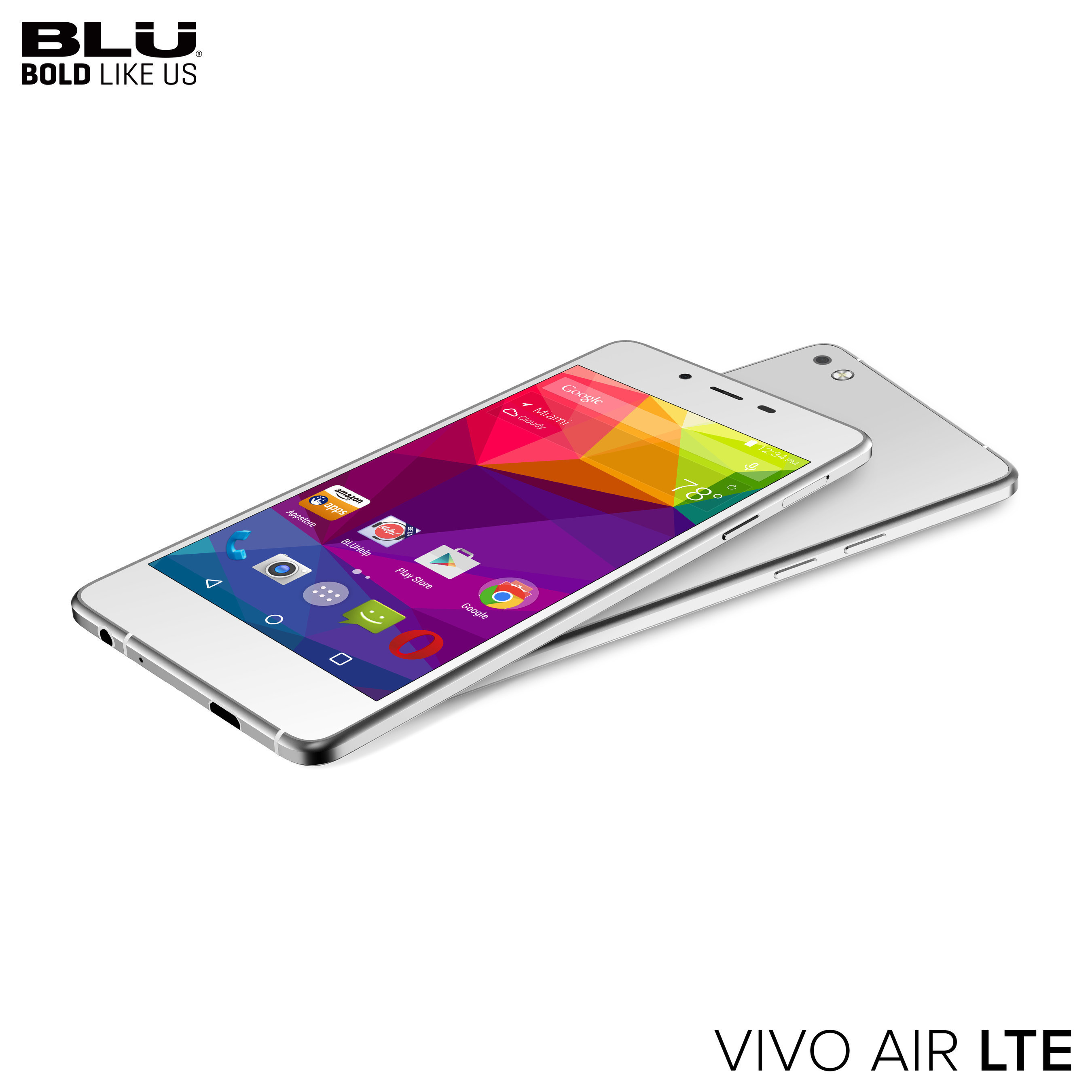 BLU Products Announces at CTIA Super Mobility in Las Vegas the Follow Up To Popular Vivo Air Series