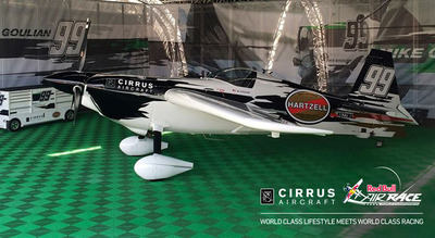 Cirrus Aircraft announced it has become a team supporter of the Red Bull Air Race World Championship for the 2014 season. Cirrus will support Team Goulian, the Red Bull Air Race Championship team led by acclaimed air racer and aerobatic pilot, Michael Goulian.  (PRNewsFoto/Cirrus Aircraft)