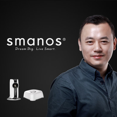 Home Security Pro Chuango Enters US Market with CEO Ken Li & New Brand smanos (PRNewsFoto/Chuango Security Technology Corp)