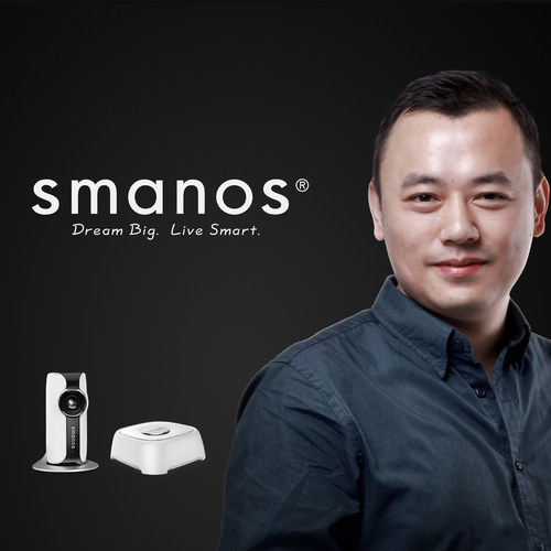 Home Security Pro Chuango Enters US Market with CEO Ken Li & New Brand smanos (PRNewsFoto/Chuango Security ...
