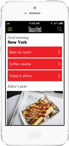 Time Out Launches New Universal Mobile App