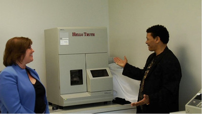 """DNA Analyzer """"Hello Truth"""" Unveiled During Innocence Network International Delegate Tour of DDC"""