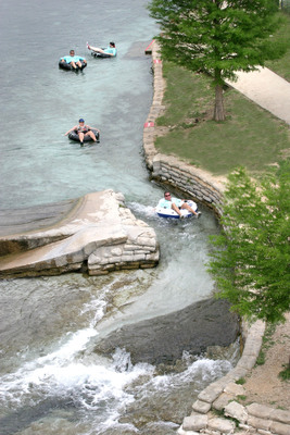 New Braunfels, Texas, is a favorite family vacation destination because it offers good value for those looking for affordable, fun, family summer vacations. The city offers a wide variety of accommodations from camping to resorts and many attractions for children and adults, including Natural Bridge Caverns, the Wildlife Ranch Texas Safari, Schlitterbahn, the Guadalupe and Comal rivers, and Canyon Lake. It is also well-known for Texas live-music venues including Gruene Hall, Texas' oldest dance hall, and for German cultural heritage. New Braunfels is on IH-35 between Austin and San Antonio, with popular attractions in both cities only an hour away.