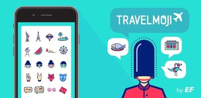 EF Education First presents Travelmoji, an emoji keyboard dedicated to summer, travel, sun and fun. Download Travelmoji from AppStore (iOS) or Google Play (Android) (PRNewsFoto/EF Education First (EF)) (PRNewsFoto/EF Education First (EF))