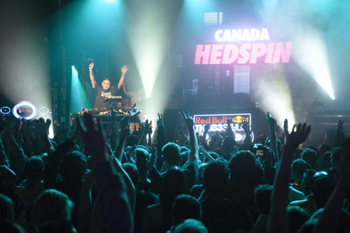 DJ Hedspin (Canada)- 2011 Winner, Red Bull Thre3style World Finals.  (PRNewsFoto/Red Bull)