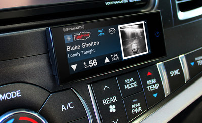 SiriusXM Commander Touch: All new satellite radio designed to seamlessly integrate into the vehicle