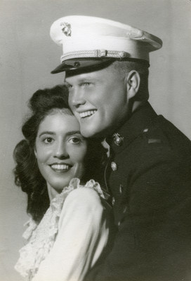 John and Annie Castor Glenn, photo courtesy of the John Glenn Archives, Ohio State University