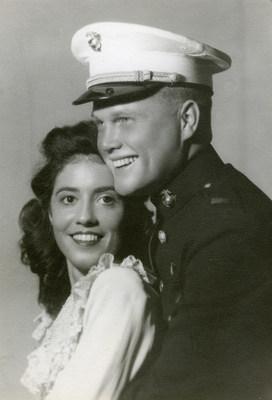 John and Annie Castor Glenn, photo courtesy of the John Glenn Archives, Ohio State University