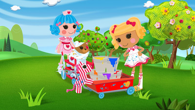 Lalaloopsy(TM) Set to Premiere on Nickelodeon Spring 2013.  (PRNewsFoto/MGA Entertainment)