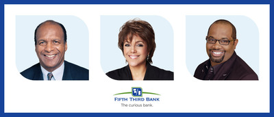 Fifth Third Bank Chicago Honors Three Prominent Chicagoans:  IL Secy' of State Jesse White, Johnson Publishing Company (Linda Johnson Rice) and Pastor Corey B. Brooks with its 2013 Community Leader Award & Scholarships.  (PRNewsFoto/Fifth Third Bank Chicago)