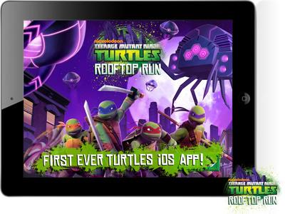 Nickelodeon's Teenage Mutant Ninja Turtles Rooftop Run App Live Today!