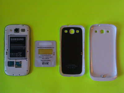 Monster Watts Sealth, Simple, and Super Pack models for wireless charging of the Samsung Galaxy S3.  (PRNewsFoto/Monster Watts)