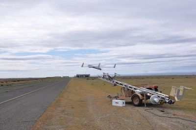 Insitu Pacific ScanEagle launched from Mark4 launcher
