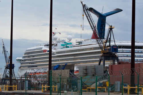 """If your final destination is a shipyard, you might need travel insurance."" (PRNewsFoto/Trawick ..."