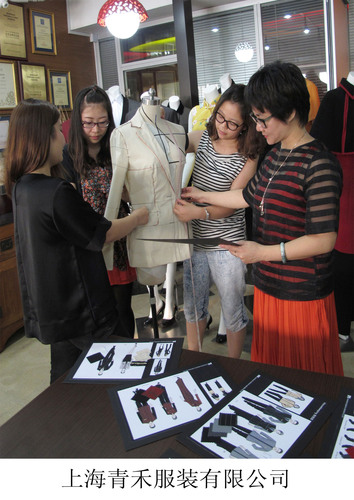 Shanghai Qinghe Fashion Company is a women-owned company supplying uniforms to several Marriott hotels in China.  (PRNewsFoto/Marriott International, Inc.)