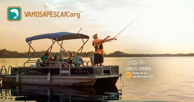 Para inspirar a mas familias a pescar, navegar y compartir sus experiencias con los demas, Carlos Correa, el campocorto de Houston y Novato del Ano del AL, y la campana Vamos A Pescar(TM) de la Fundacion Recreacional de Pesca y Navegacion (Recreational Boating & Fishing Foundation, RBFF), anuncian la promocion Asi Vamos a Pescar(TM).