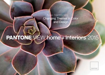 PANTONE VIEW home + interiors 2015 report. (PRNewsFoto/Pantone LLC) (PRNewsFoto/PANTONE LLC)