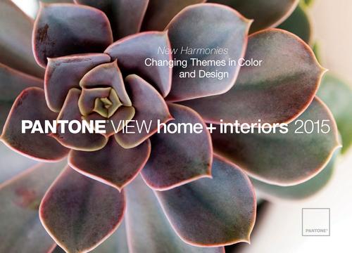 PANTONE VIEW home +  interiors 2015 report.  (PRNewsFoto/Pantone LLC)