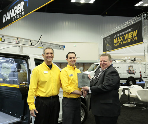 Ranger Design wins The Work Truck Show® 2016 Innovation Award