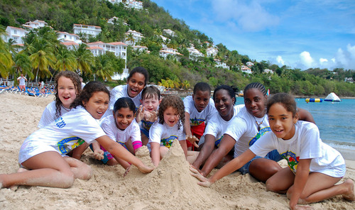 St. Lucia's Top-Notch Green Family Vacation Resort Celebrates World Oceans Day With Fun Water