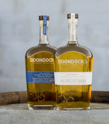 Boondocks American Whiskey 95 Proof and Cask Strength 127 Proof expressions from Master Distiller and Whisky Advocate Lifetime Achievement Award winner Dave Scheurich.